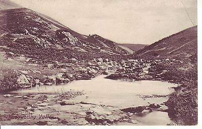 Vintage Postcard 1904 Budgworth Valley. Very Early Friths GC