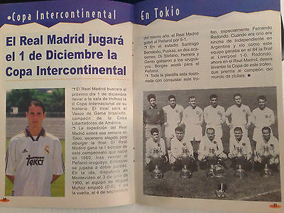 Real Madrid Spain Vasco Gama Brazil Cup Intercontinental 1998