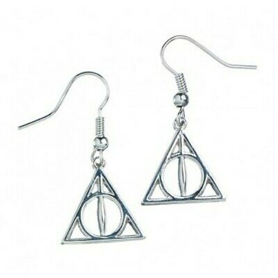 Harry Potter : DEATHLY HALLOWS EARRINGS From The Carat Shop UK