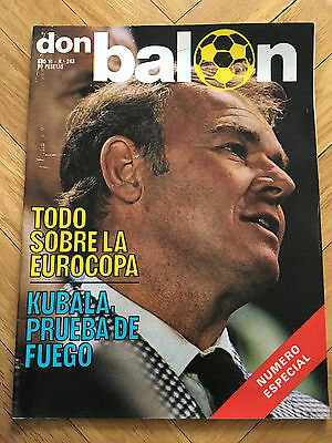 Don Balon Especial Euro 80 Italy 1980 All Informartion Nottingham Forest Rare!!!