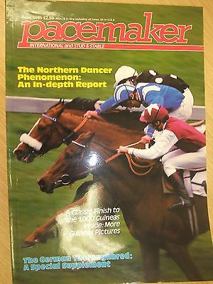 Pacemaker International Magazine June 1985 Horse Racing