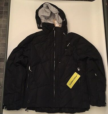 Men's Fischer Carbon Ski Jacket Black. XXL
