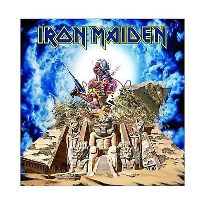 Iron Maiden Somewhere Back In Time Greeting Birthday Card Any