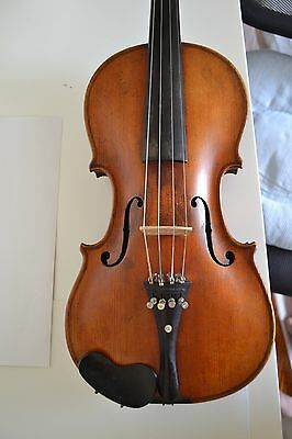 Vintage Old Antique Violin - JACOBUS STAINER Full Size Beautiful!