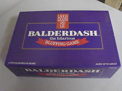 Balderdash Board Game Replacement Cards + Pieces Only