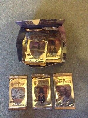 1 X Unopened Harry Potter Trading Card Game Booster Pack 0-7430-0136-2
