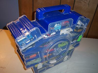Jammers Car Storage Case Full of 65 Cars & Trucks