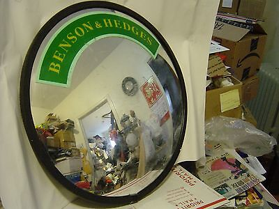 "BENSON & HEDGES See All  Round  Glass Indoor Convex Security Mirror, 18"" Length"