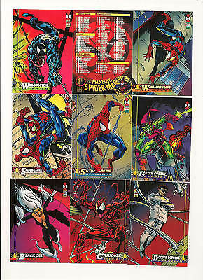 Spider-Man 1994 Fleer Complete Set ( 150 Cards )