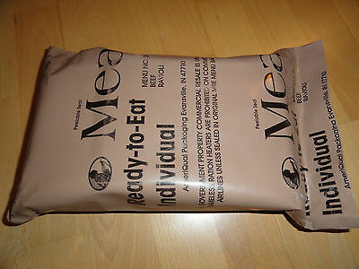 Us Army Mre Ration Package Feldration Meal Ready To Eat, Epa Infantry Usmc Usaf