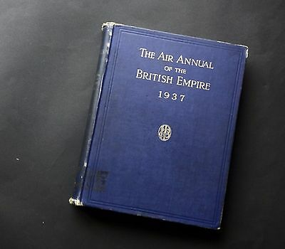 Vintage aircraft Air Annual of the British Empire 1937