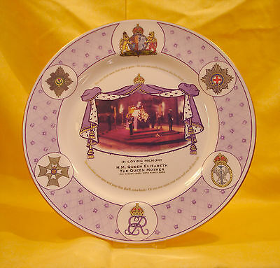 QM05 2002 Queen Mothers Memorial Plate L/E 250 this is No 31