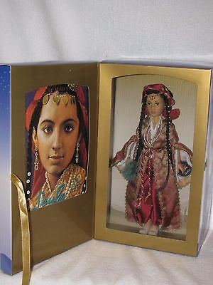 "MIB 10"" American Girl Doll Of Many Lands Doll From Turkey By Helen Kish W/ Book"