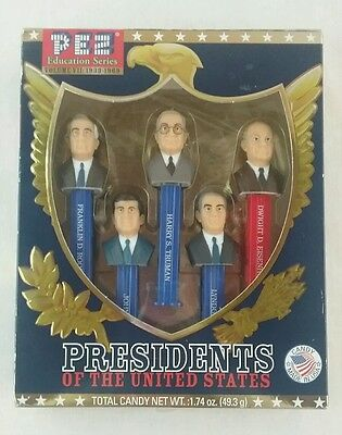PEZ Presidents of the United States Education Series 1933-69 Great Collectibles