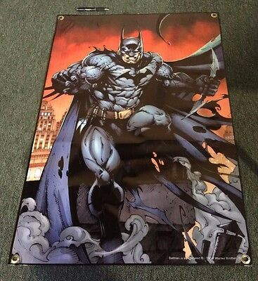 Batman Banner Figure Action Comic Book Poster Mask Toy Outfit Marvel Magazine