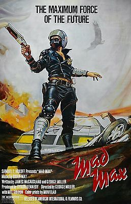 MAD MAX 1 ORIGINAL 11X17 Movie Poster collectible NEW CLASSIC