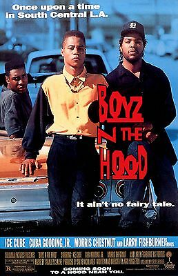 BOYZ IN THE HOOD 11X17 Movie Poster collectible RARE CLASSIC ICE CUBE