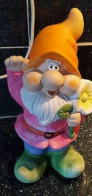 Latex Craft Mould To Make Large Garden Gnome Ornament Art & Crafts Hobby