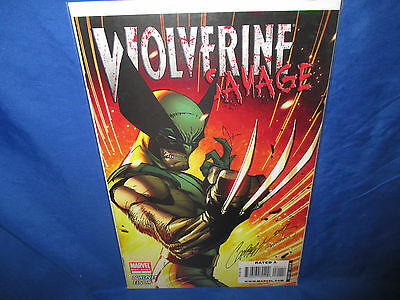 Savage Wolverine One-Shot J.scott Campbell Cover Nm-