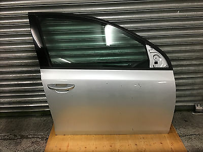 09-12 Vw Golf Mk6 Driver Side Front Complete Door Very Clean In Silver Genuine