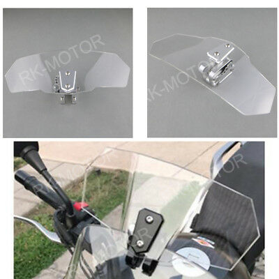Clip On High Deflector Windshield Windscreen For  Triumph Tiger 955i All Years