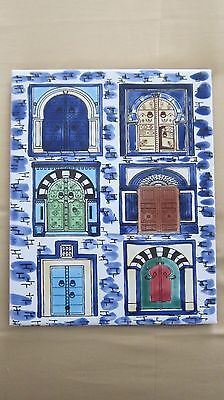 Hand Painted Decorative Ceramic Tile: Different Style of Doors