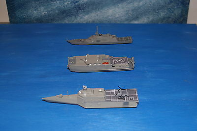1/1250 Scal Littoral Ship Squadron - Indepedence, Freedom, Spearhead, Osprey
