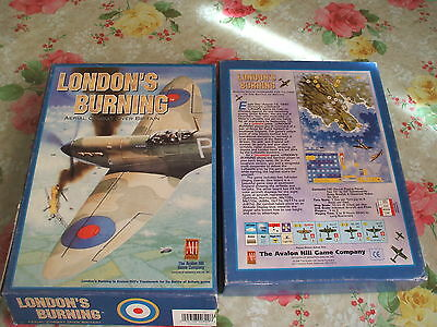 BOARDGAME WARGAME London's Burning  1995 SOLITAIRE GAME ENGLISH AH