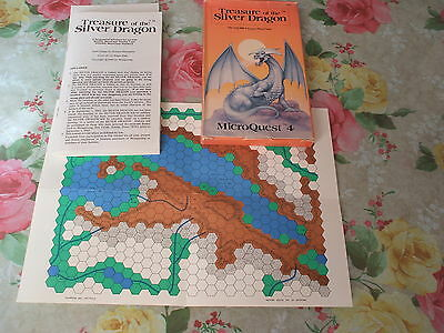 Treasure of the Silver Dragon MicroQuest #4 Metagaming MicroQuests Fantasy Trip