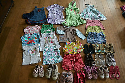 Girls Clothes Lot Size 3T  Huge Lot Of Clothes And Shoes Euc