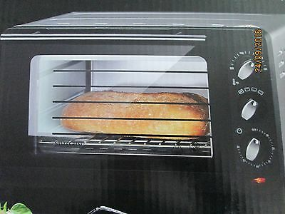 Mini Oven 1200W For Baking Grilling And Reheating