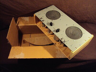 "Vintage New Old Stock 6"" Military Dual Mounted Speaker Set 1968 1969 Navy Ham"