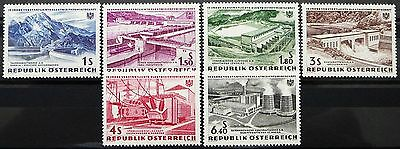 Austria stamps - Electric power industry_1962 - MNH.
