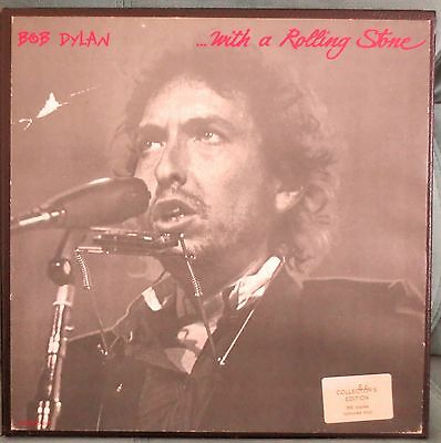 Bob Dylan Boxed Set-With A Rolling Stone