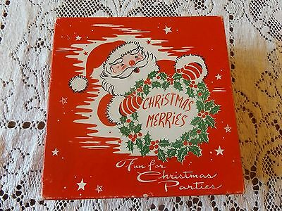 Vintage-Paper-Napkins-Christmas-Merries-Twas-the-Night-Before-Christmas-Craft