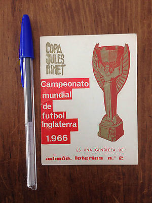 Mundial World Cup England 1966 Wc66 Copa Jules Rimet Extremely Rare!!!!!