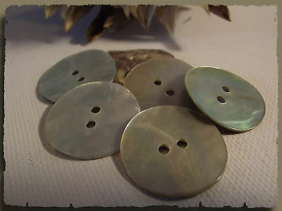 SC Lot 100 Perles Boutons en Nacre Coquillage Ronde 8mm I9S8 3X