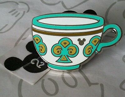 Green Club Teacup 2015 Mad Tea Party Cups Hidden Mickey Disney Pin Buy 2 Save