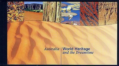 UN NY . 1999 Australia World Heritage . Complete Booklet . Mint Never Hinged