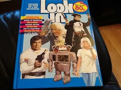 Look In Best of the 80's ANNUAL TV Comic . A-Team , PIN UPS DEBBIE HARRY. , NEW
