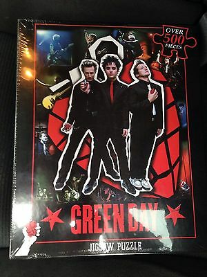 Green Day Jigsaw Puzzle By Icup 2004 Over 500 Pieces New Unopened American Idiot