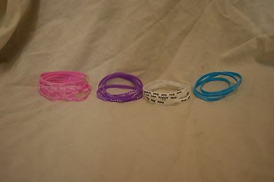 frozen wristband various colours of your choice *look*