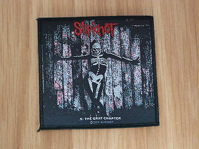 Slipknot - The Gray Chapter (New) Sew On W-Patch Official Band Merchandise