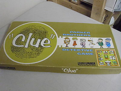 Parker Brothers Clue Board Game Replacement Pieces Only