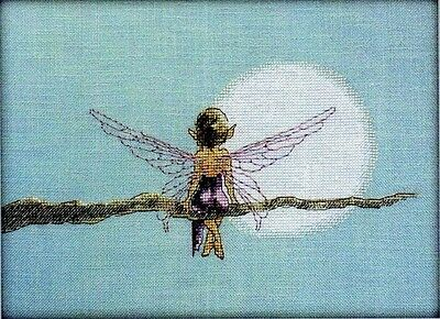 Fairy on a Branch - Cross Stitch Chart - Free Postage