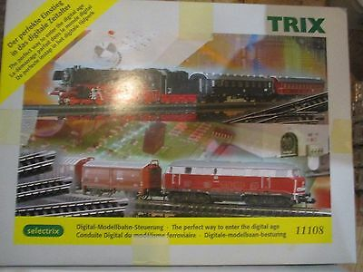 TRIX N scale #11108 Digital Modellbahn-Steuerung train set w Free shipping!
