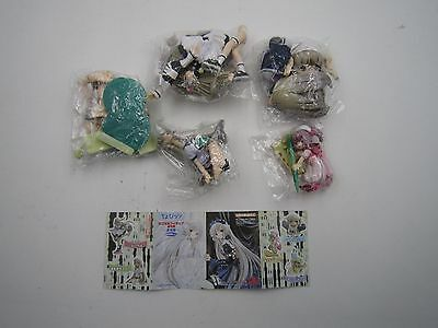 Chobits K&M Capsule Figure Original Comic Ver. Gashapon Color Ver. Set Kaiyodo