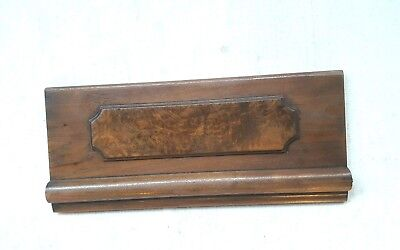 Vintage Header Pediment Entryway Mantel Mantle Architectural Accent Interior