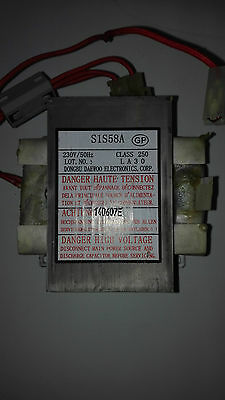 Transformateur pour micro-ondes Daewoo S1S58A (neuf)