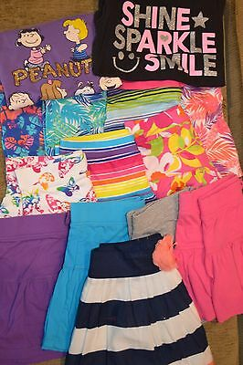 Girls Childrens Place skirts and shirts size 10/12 (lot of 14)